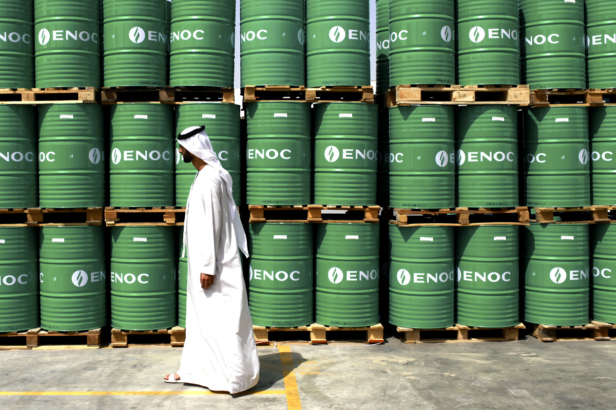 Арабский рай - нефть дешевле воды
