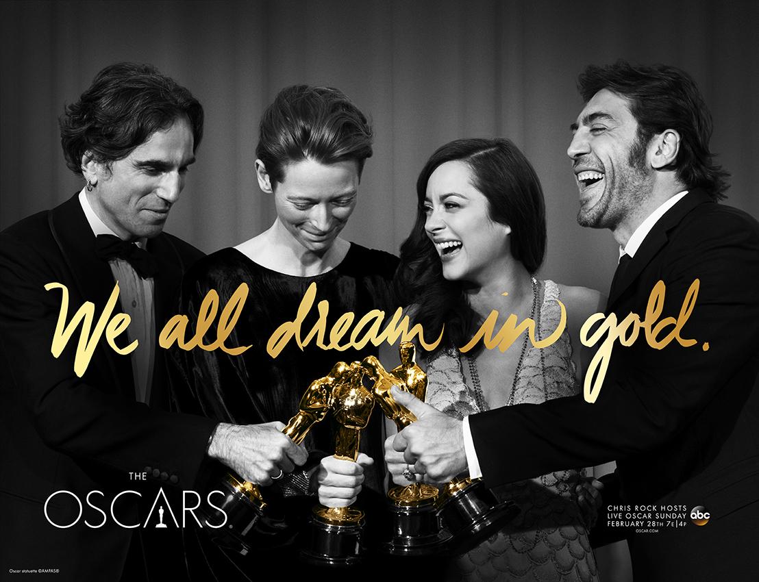 """Постеры к 88-й церемонии """"Оскар"""""""
