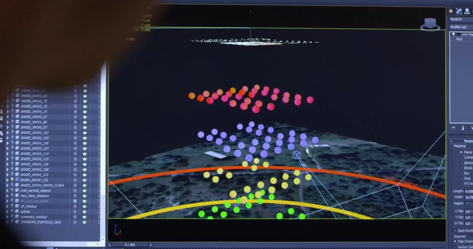 Intel-Drone-100-Light-Show-Software