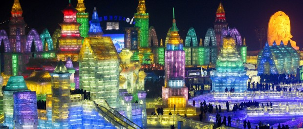 Фестиваль льда и снега дарит позитив китайцам
