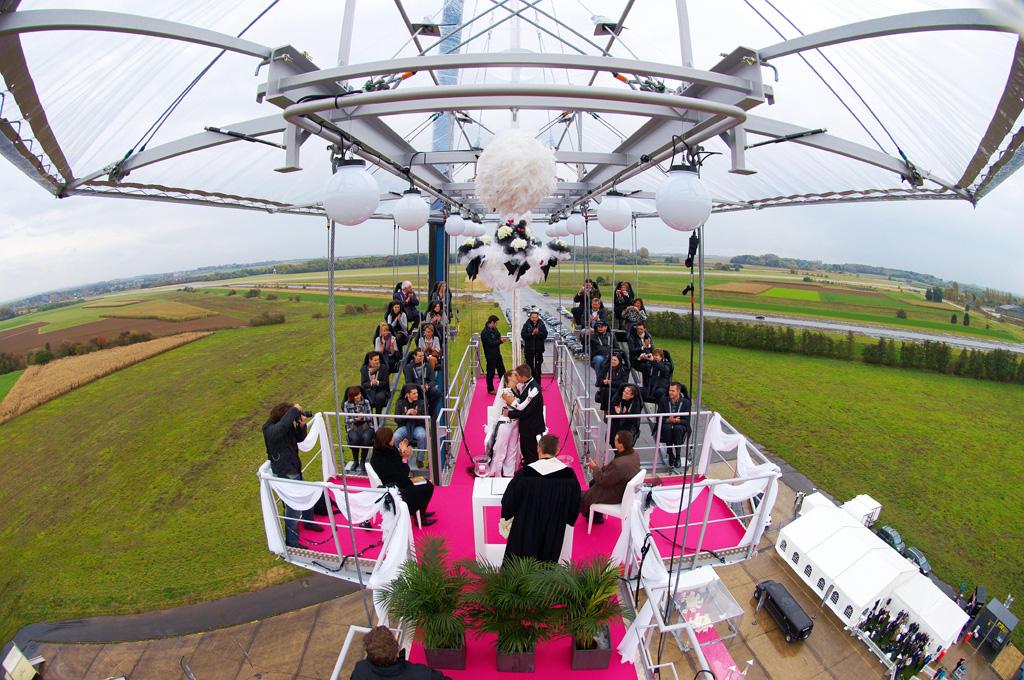 Свадьба в воздухе для всех