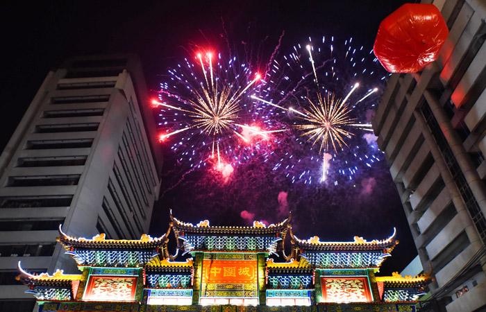Новый год в Китае начался