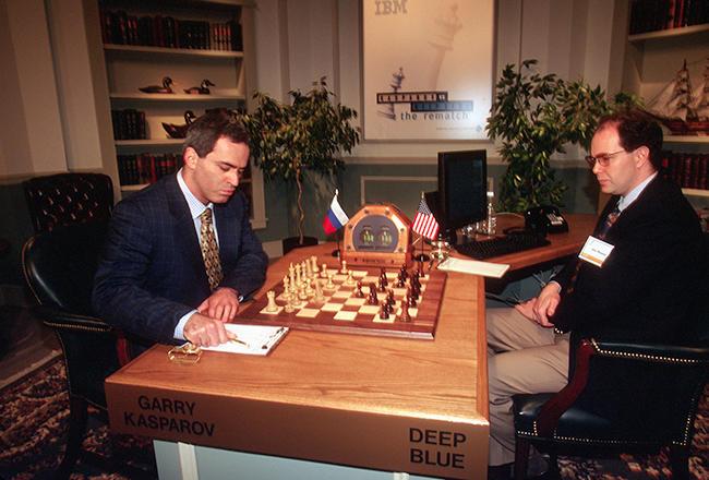 Первый победитель человека в шахматы