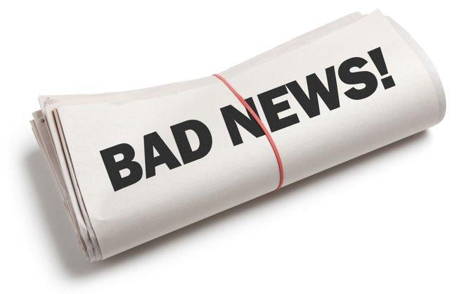 Плохие новости негативно скажутся на самих СМИ