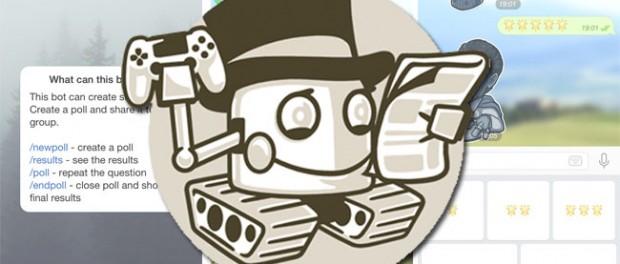 Революция роБотов начинается с Telegram