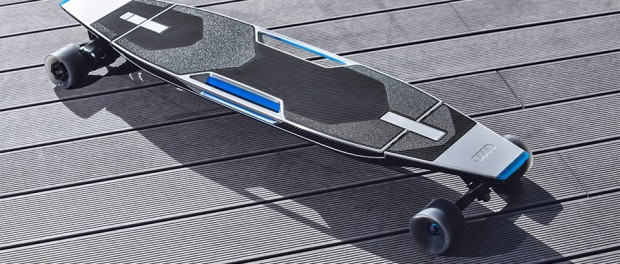 В Audi решили повышать мобильность водителя при помощи лонгборда