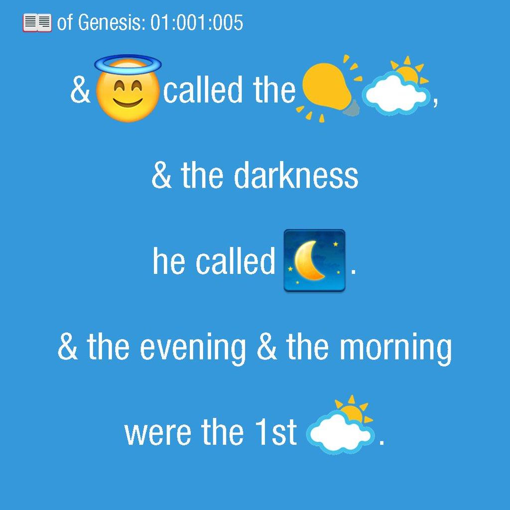 Новинка - эмодзи-Библия