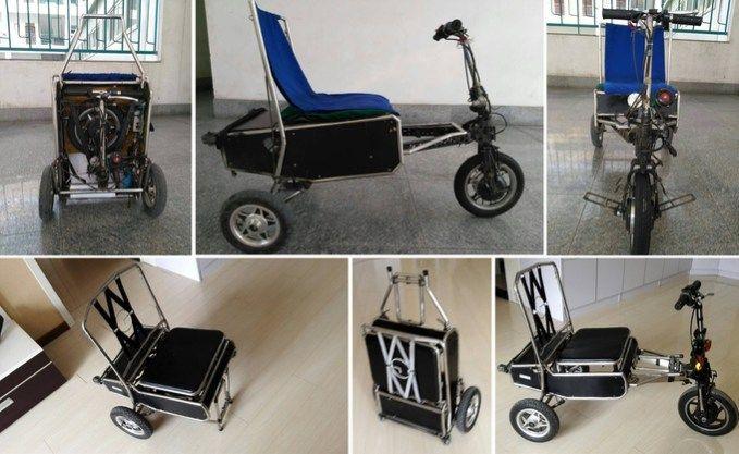 Супер скутер от EFoldi