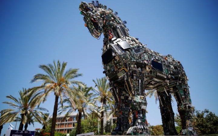 Новая кибер версия троянского коня в Тель-Авиве