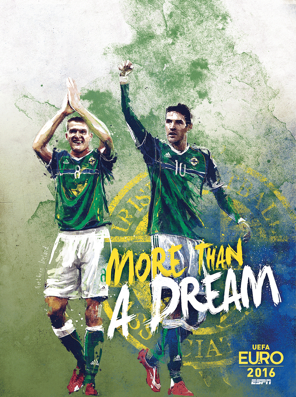плакат сборной Евро 2016