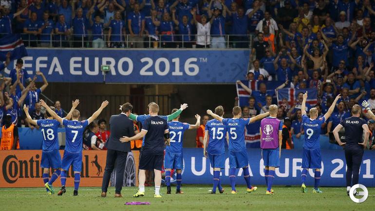 Восхитительные мгновения исландской сборной