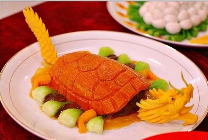 Пример креативной подачи блюда