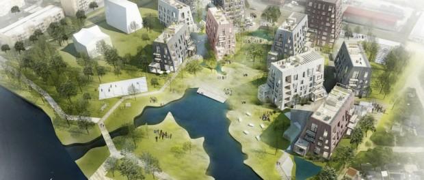 Шведы строят «деревянный микрорайон»