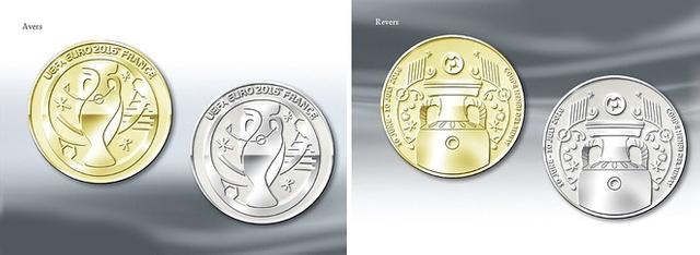 медали финалистов евро 2016