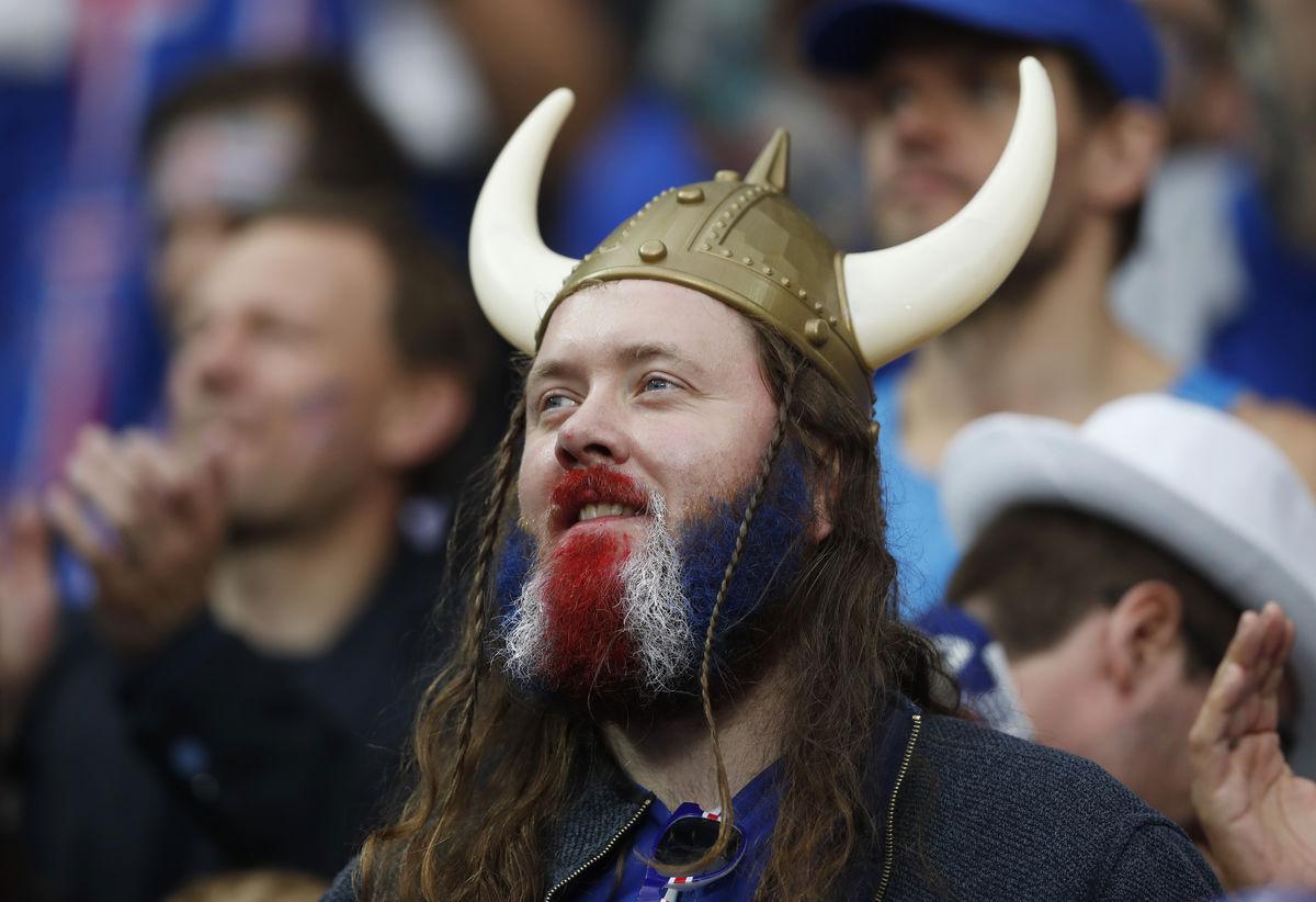 Исландский  фанат