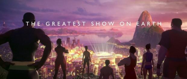 Олимпиада в Рио. Невероятные стандарты анимации от BBC