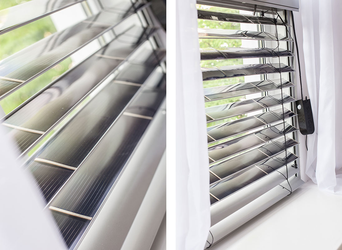 жалюзи SolarGaps, которые обеспечат квартиру электроэнергией