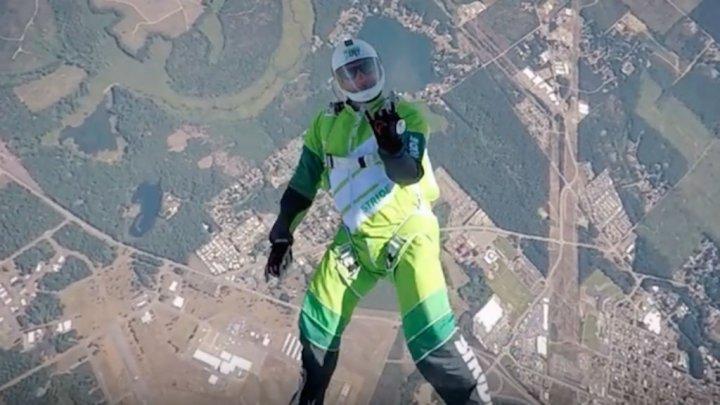 полет без парашюта