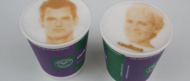 Lavazza представило капучино с изображениями теннисистов