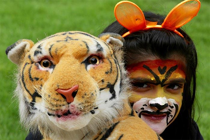 Кампания за спасение тигров