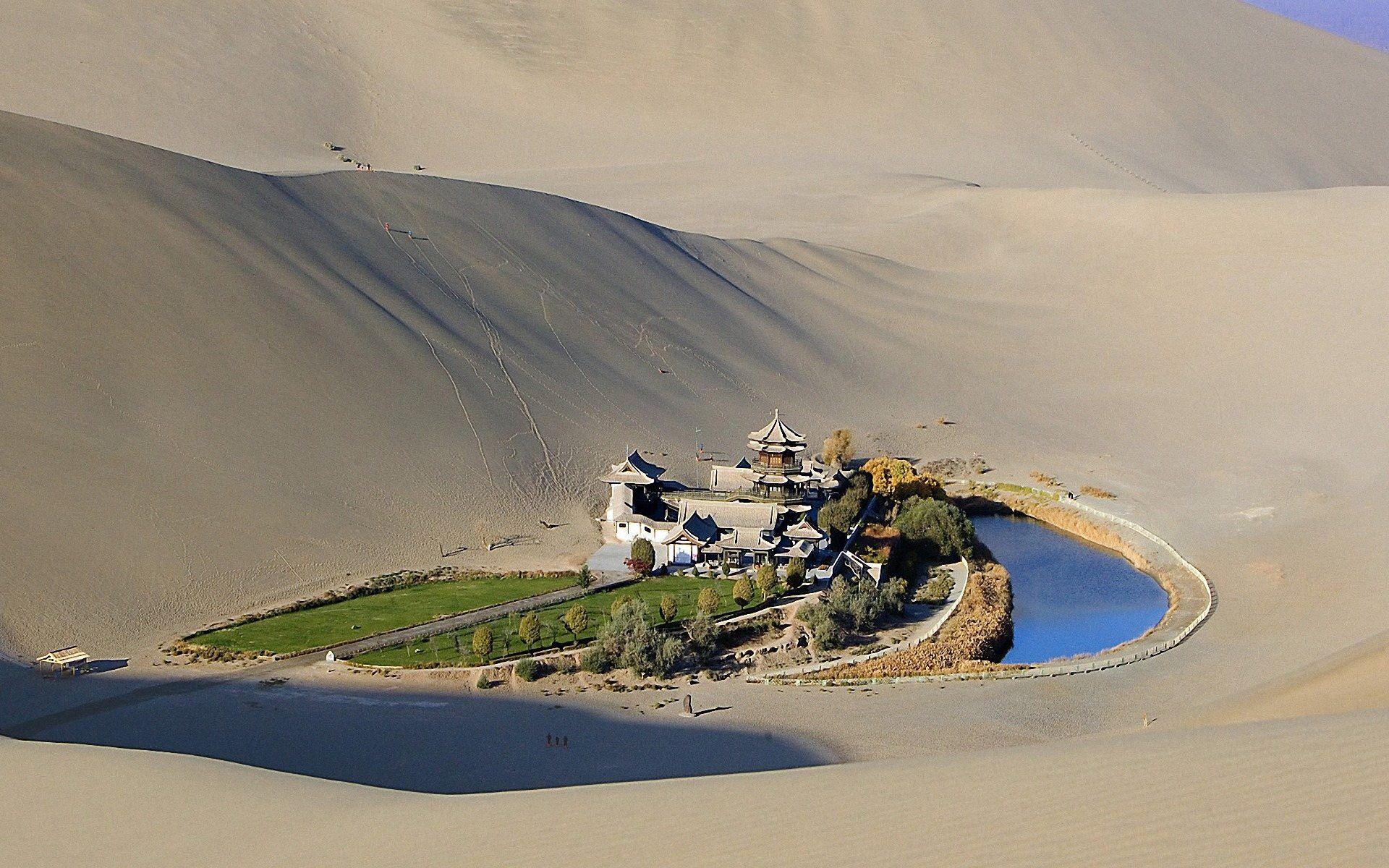 Оазис посреди пустыни