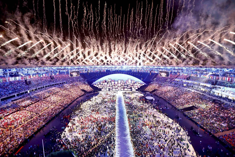 Грандиозное стартовое открытие Олимпиады в Рио