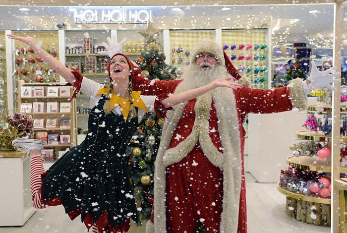 Британцы уже готовятся к Рождеству