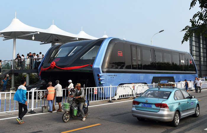 общественный транспорт нового поколения