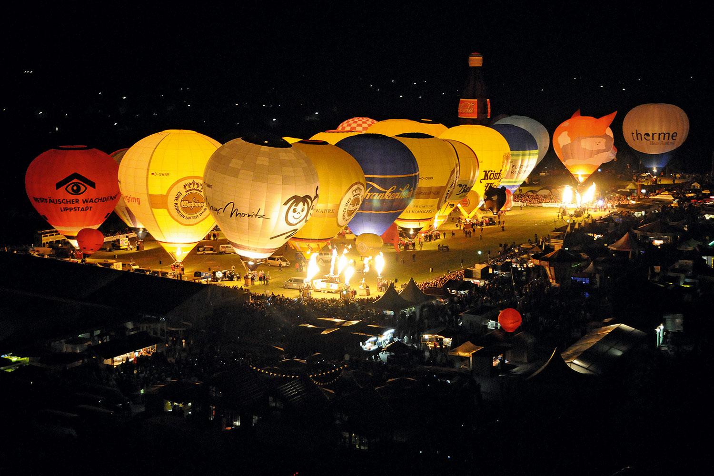 Начался фестиваль воздушных шаров в Варштайне
