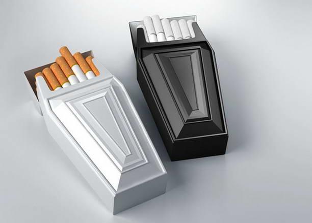 Креативный подход к пачке сигарет