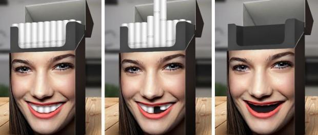 Креативный дизайн пачки сигарет от Мирослава Графоридза