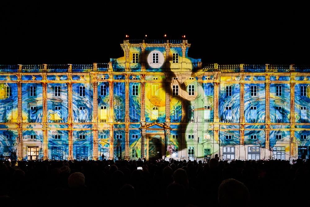 невероятная красота на празднике света в Лионе