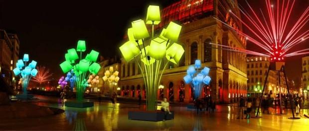 Позитивное французское действо – праздник света в Лионе