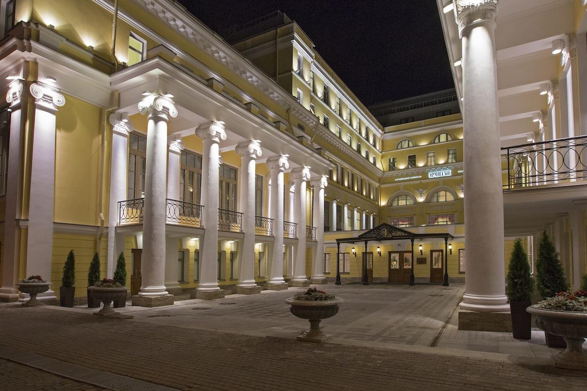 единственный в мире отель музей