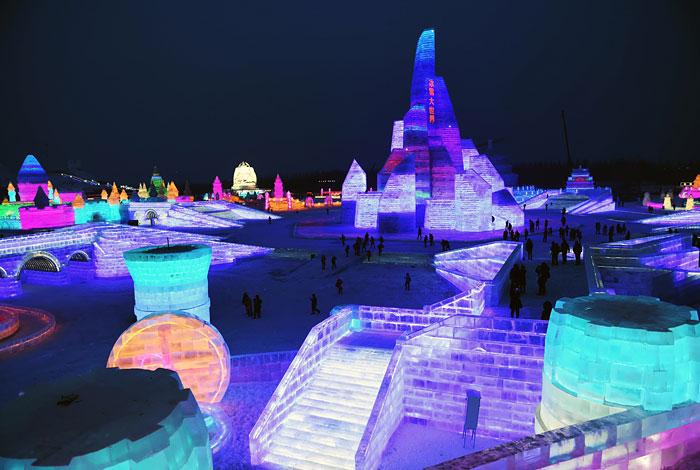 В Китае открылся праздник льда и снега