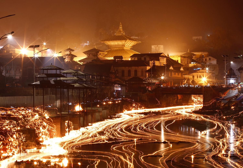 Фестиваль Бала Чатурдаши в Катманду