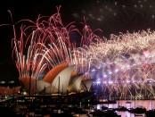 Новый год первым пришел в Австралию