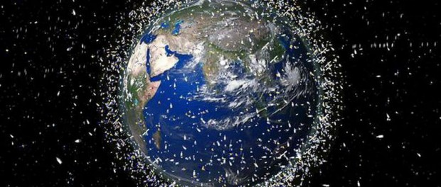 Японцы запустили на орбиту «космического мусорщика»