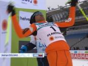 неуклюжий лыжник из Венесуэлы