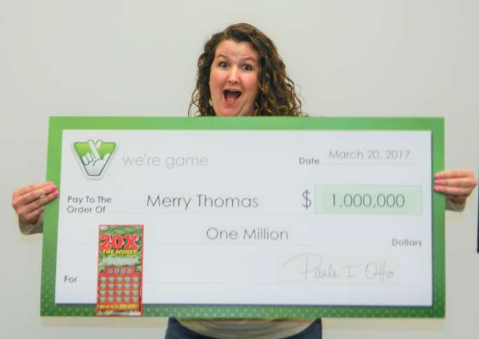 ticket won $1 million