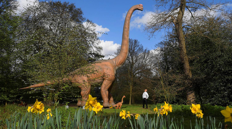 В Лондоне появились первые динозавры