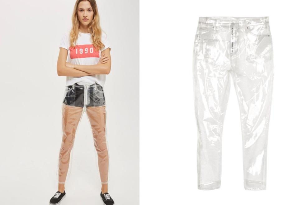 голое фековое джинсо