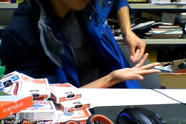 гипнотизирующая ловкость рук от Винсента Куо