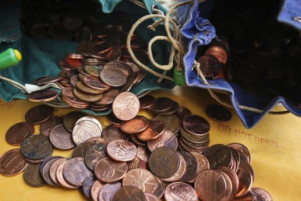 2,700 pennies2