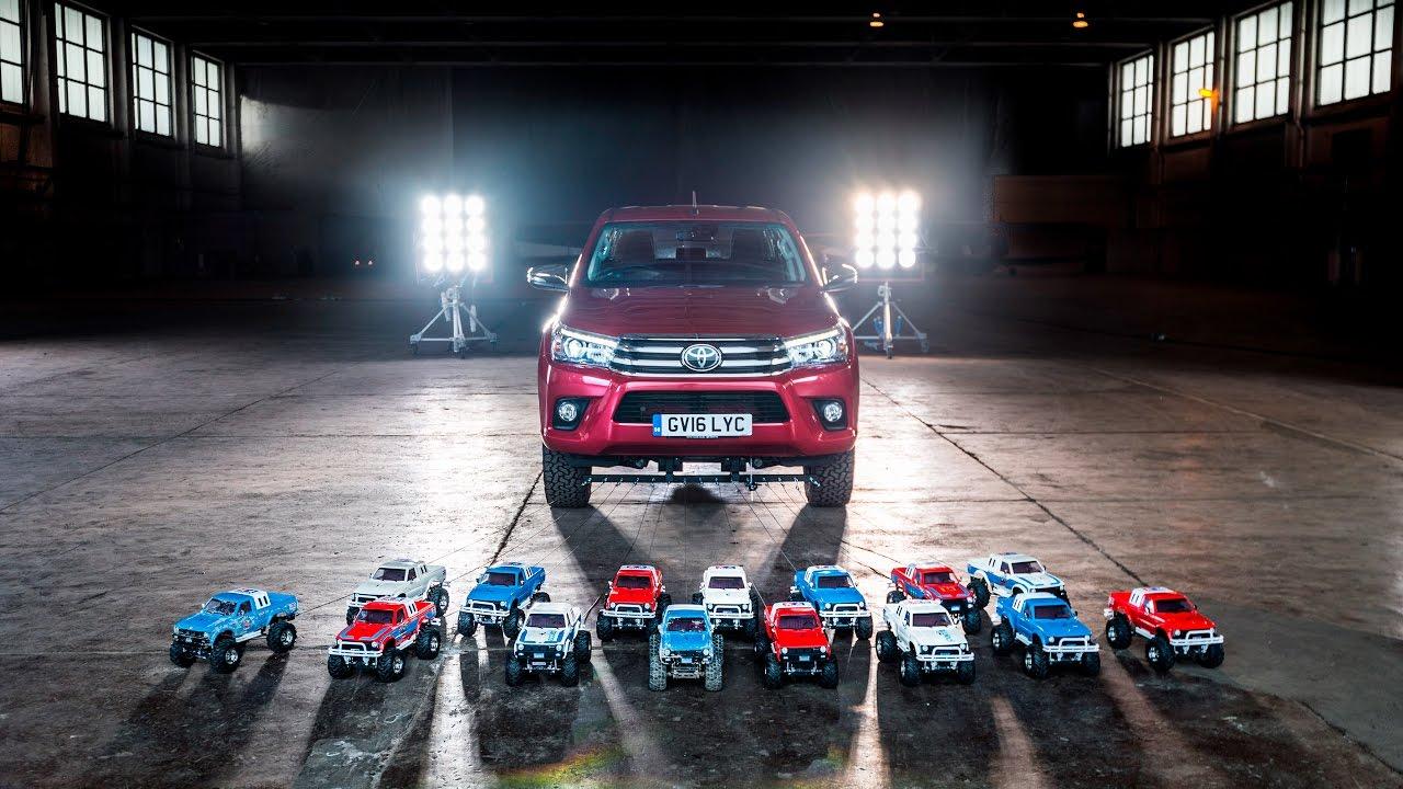 маленькие пикапы против большого монстра Toyota Hilux