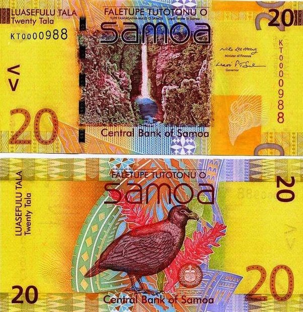 Деньги острова Самое - красивые и оригинальные