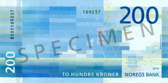 200-krone note