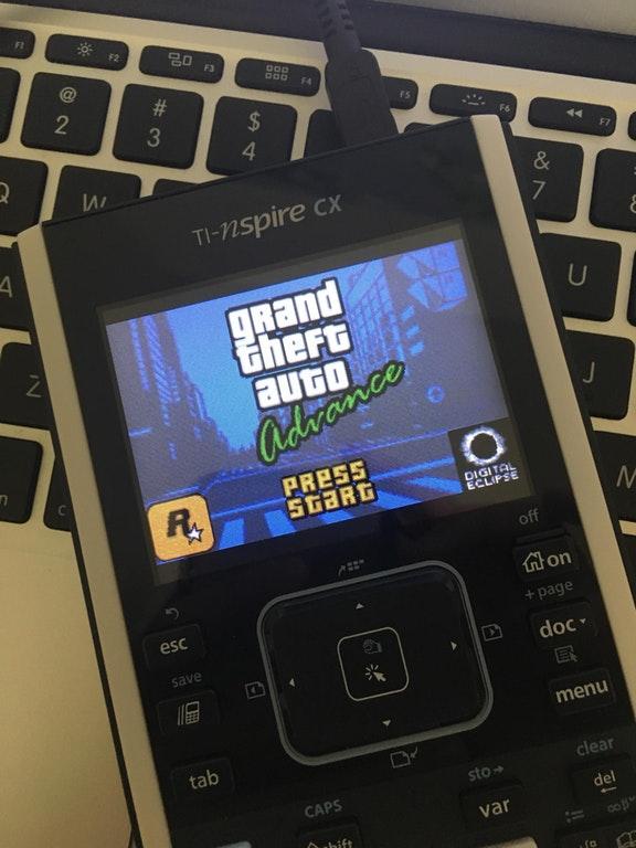GTA на калькуляторе