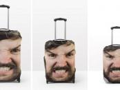 необычные чехлы для багажа