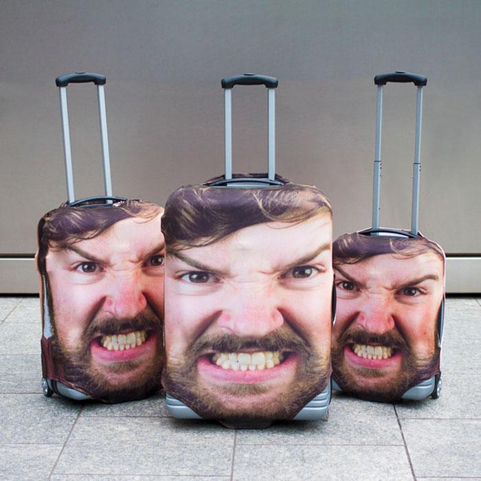 Супер чехлы для багажа, которые не дадут пропасть ему